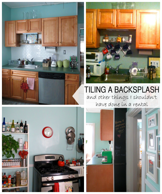 Home improvement - tiling a kitchen backsplash -- Plaster & Disaster