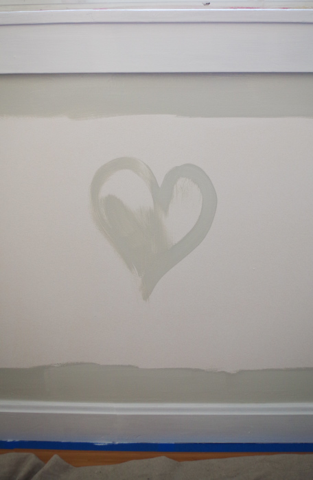 I paint hearts into the walls - Plaster & Disaster