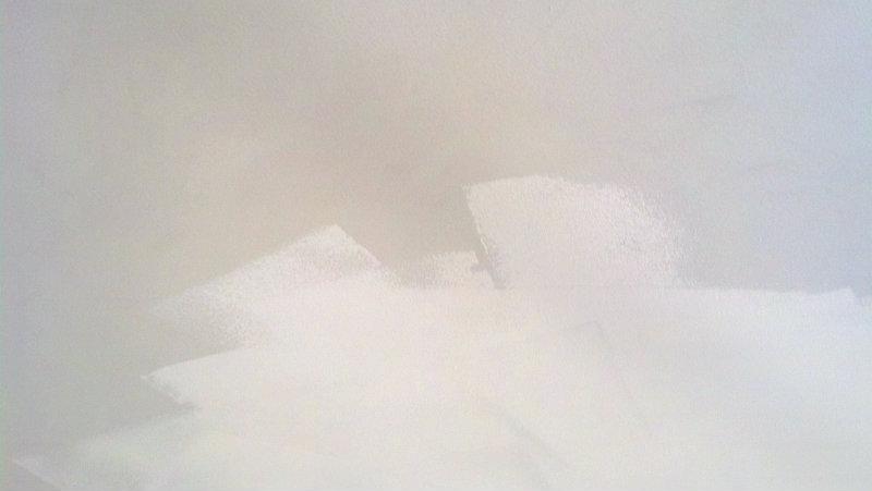 Fresh white paint - Plaster & Disaster