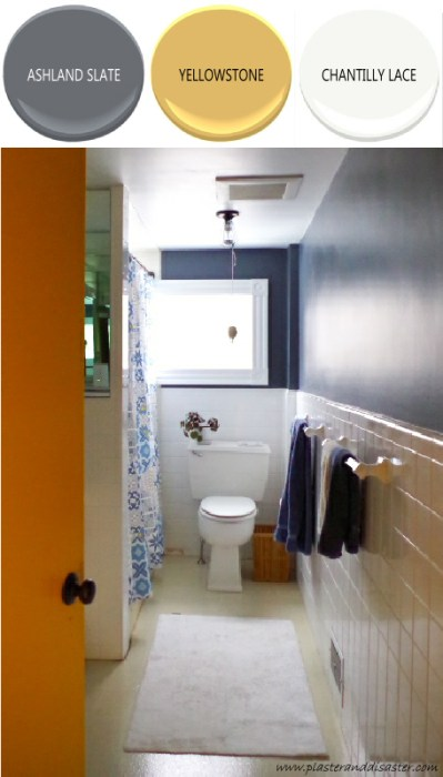 Home color palette - the bathroom - Plaster & Disaster