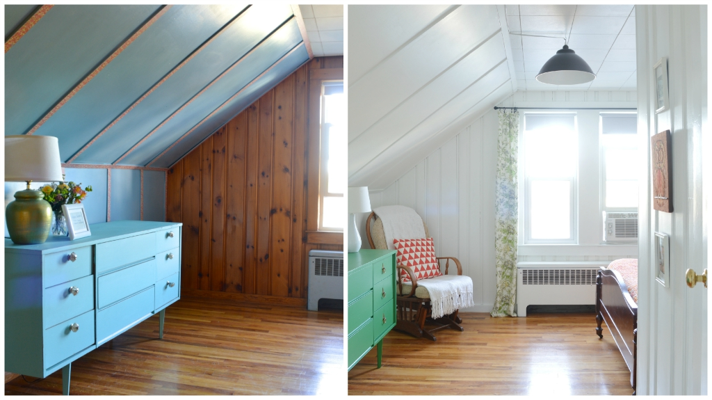 Light And Airy Attic Guest Room Makeover    Plaster U0026 Disaster