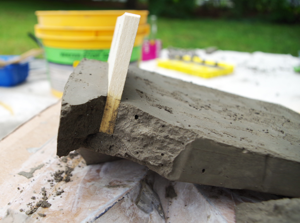 Crafing fail: a cement project gone horribly wrong - Plaster & Disaster