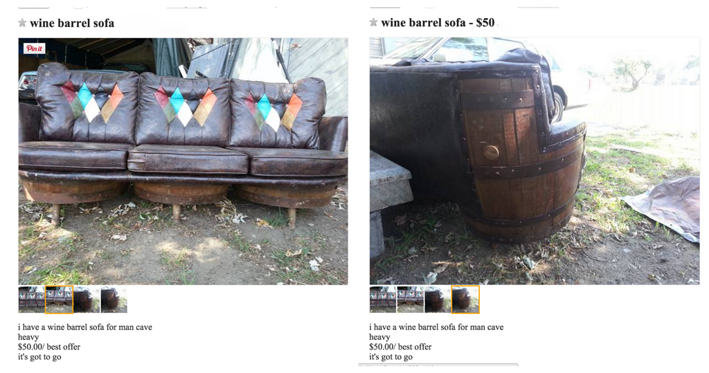 Craigslist finds: amazing or terrible -- Plaster & Disaster