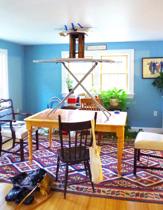 Installing a Ceiling Medallion - Plaster & Disaster