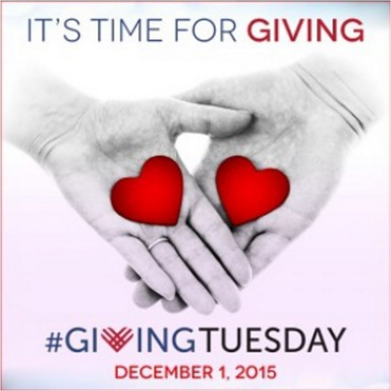 Giving Tuesday - Image by givingtuesday on Instagram - Plaster & Disaster