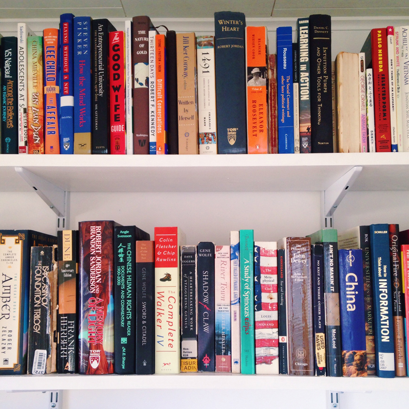 Hanging Wall Bookcase progress in the study! and how to build a hanging shelving and