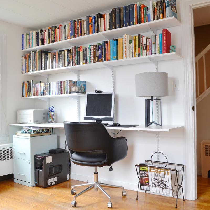 Installing A Hanging Shelf And Desk    Plaster U0026 Disaster