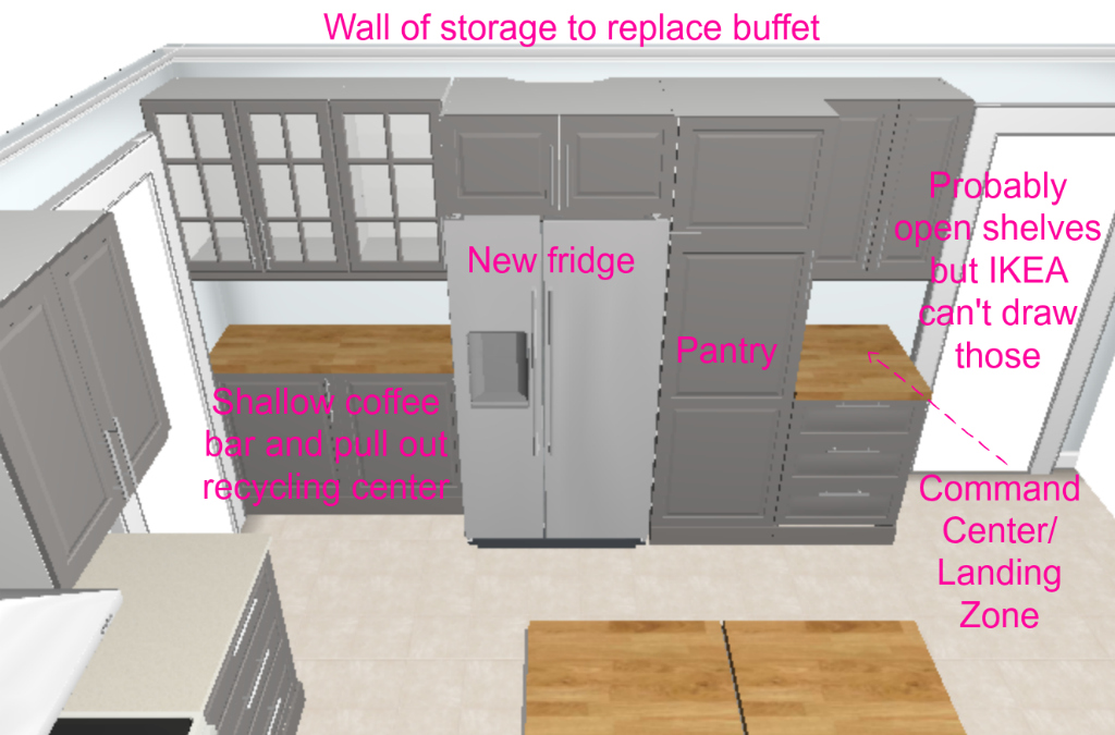 Kitchen renovation plans -- Plaster & Disaster