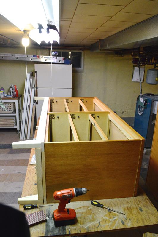 mid century modern dresser used