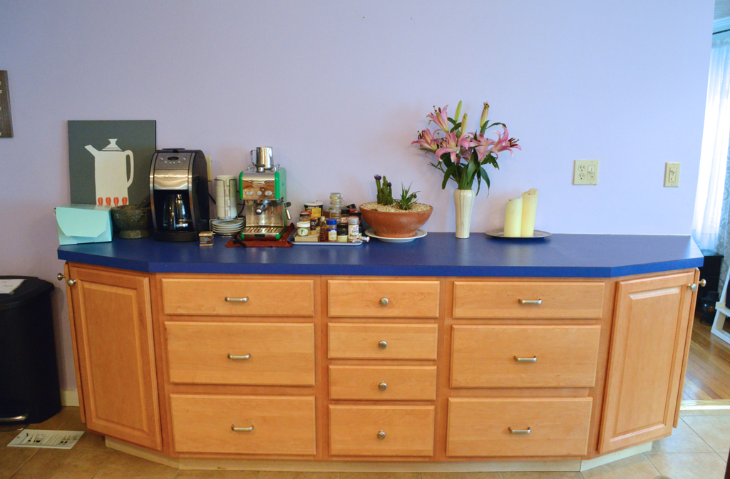 Removing kitchen cabinets and counter -- Plaster & Disaster