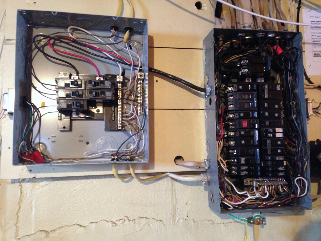 Two Important Projects In The Kitchen Plaster Disaster Home Wiring Adding Outlet An