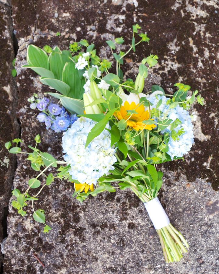 DIY Wedding Flowers - Bridesmaid Bouquet 14 - Plaster & Disaster