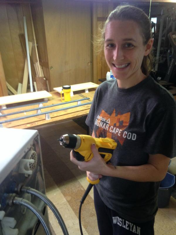 Changing washer inlet valve -- Plaster & Disaster