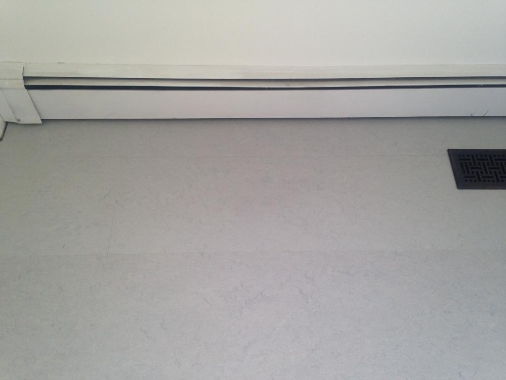 Marmoleum Floors -- Plaster & Disaster
