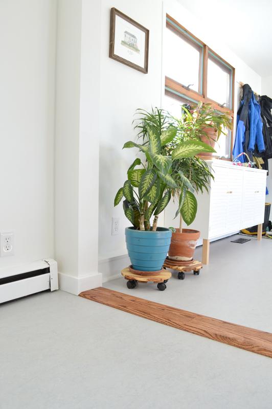 DIY Floor threshold -- Plaster & Disaster