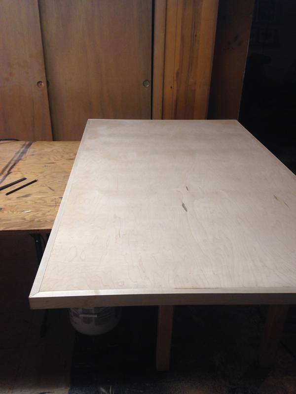 Diy Hairpin Leg Dining Table Plaster Amp Disaster