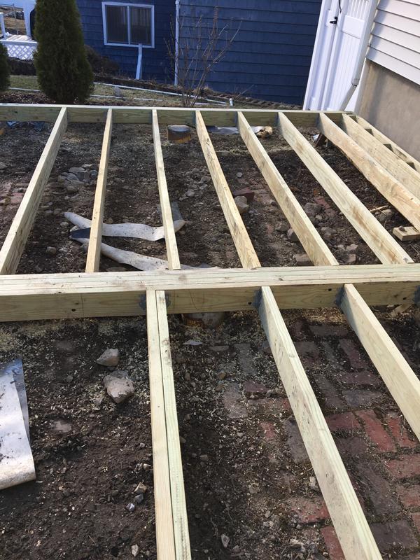 Platform deck -- Plaster & Disaster