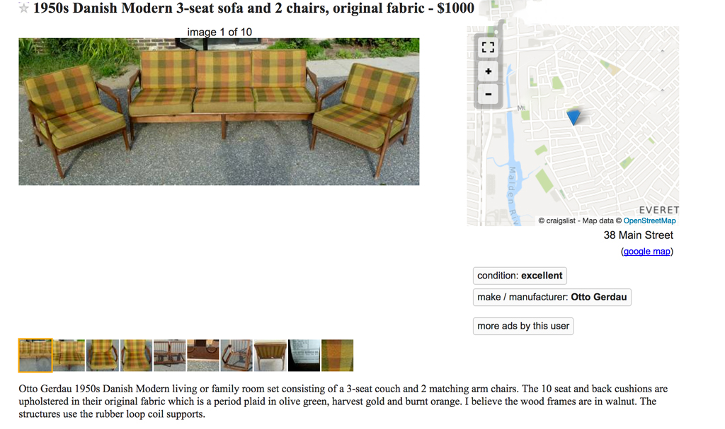 Craigslist Great or Terrible - Plaster & Disaster