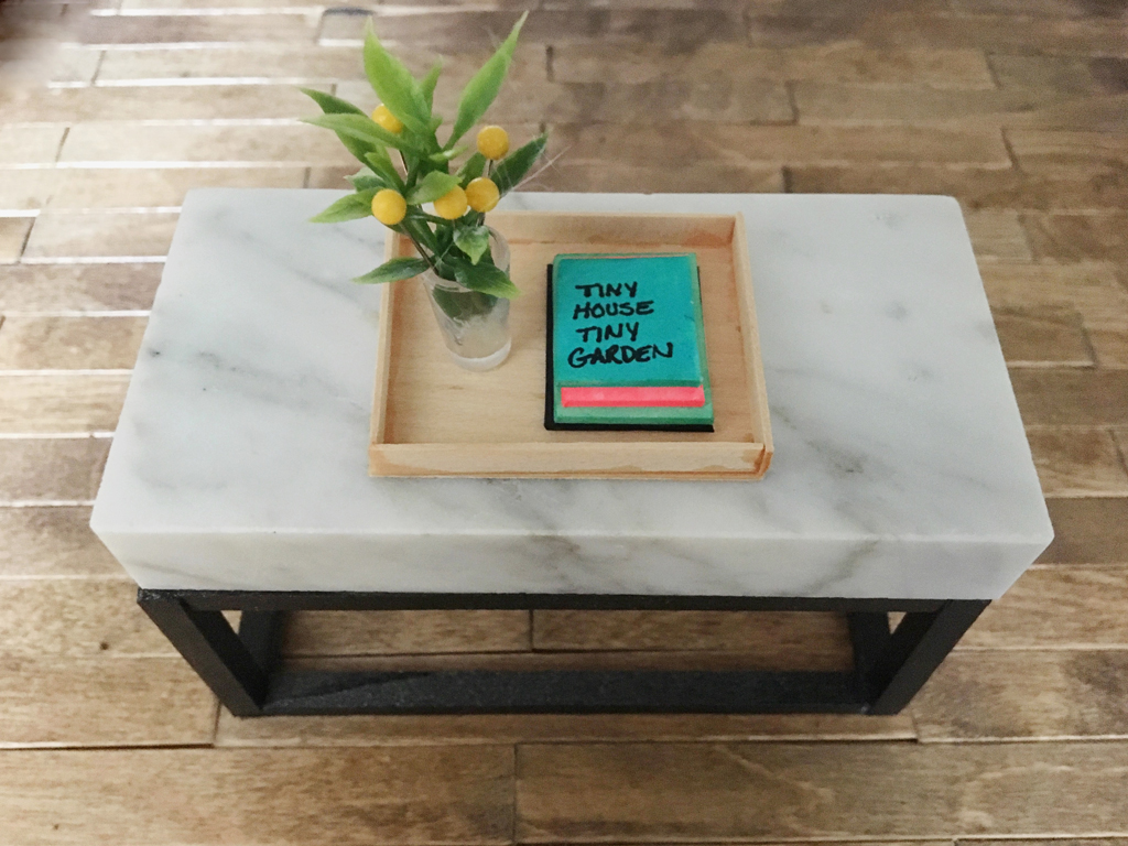 Marble metal coffee table but faux and tiny plaster disaster tiny coffee table plaster disaster geotapseo Images