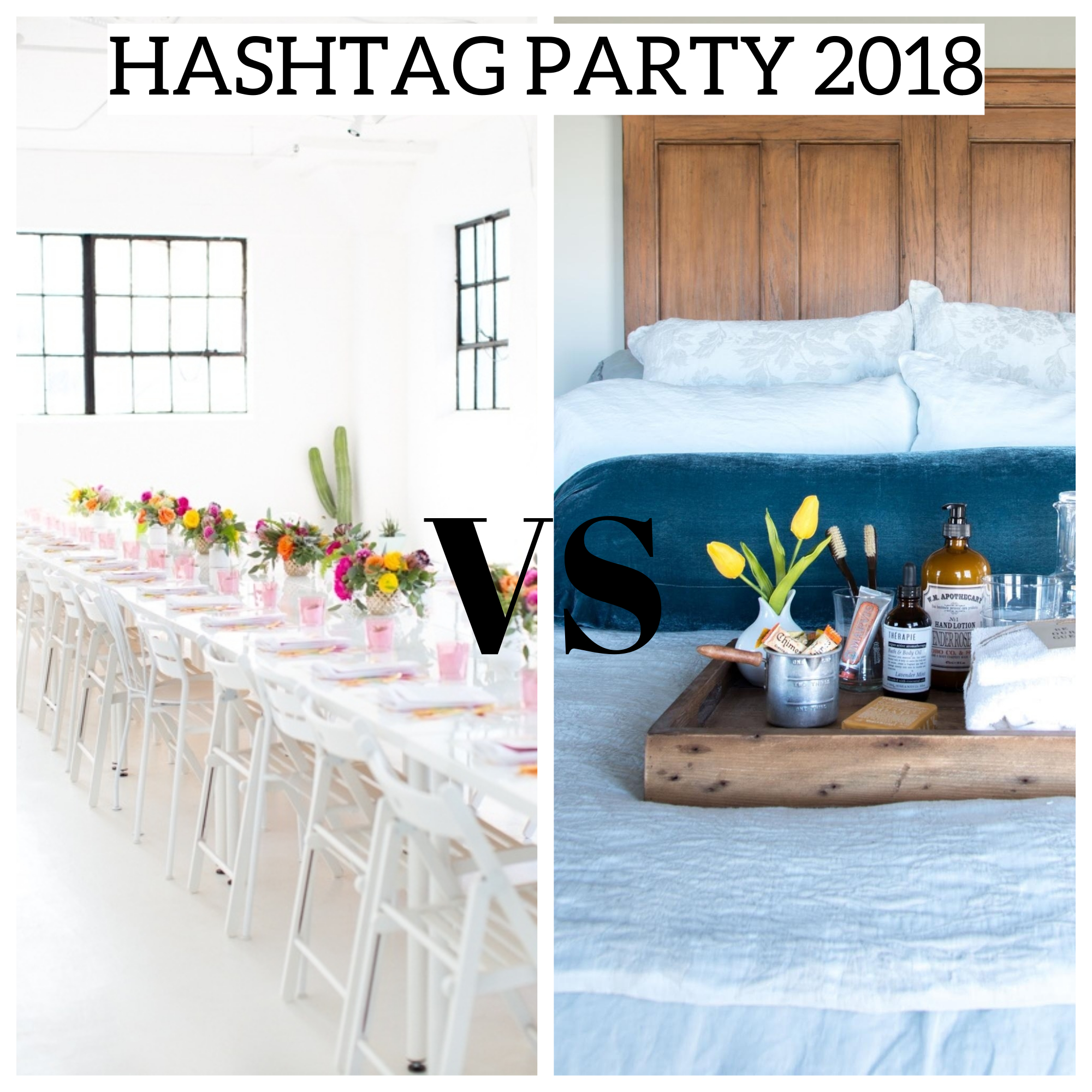 Hashtag Party 2018 - Plaster & Disaster