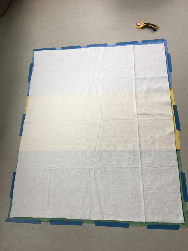 Baby quilt -- Plaster & Disaster
