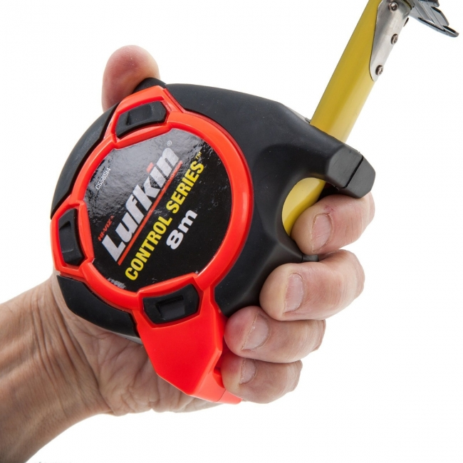 Tape Measure With Finger Drag Brake Diagram And Image