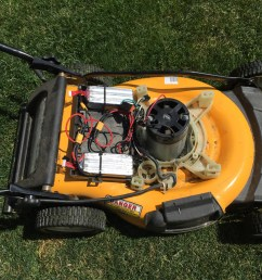 the cubcadet wiring design is straight forward and i was able to hack the lipo s into it quickly while also maintaining the existing circuitry i e the  [ 1024 x 768 Pixel ]