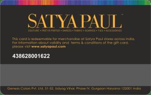 Satyapaul Gift Card