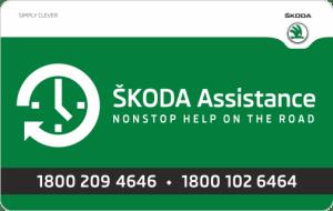 skoda - Plastic Warranty Cards