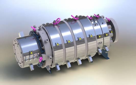 εξωθηση σωληνων extruder Rollepaal - PLASTIC-INDUSTRY.GR RSD12
