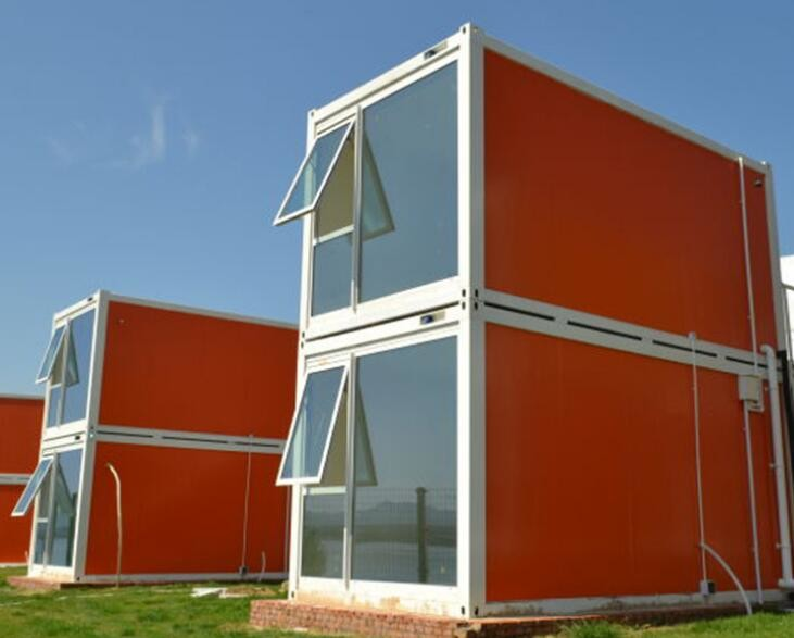 20FT Modular Container Homes . Prefab Container Homes Light Steel Structure