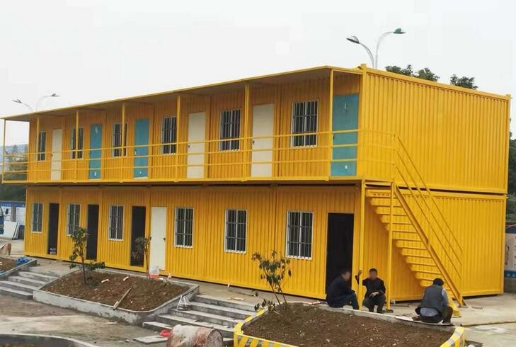 Modern Water Proof Custom Container House Strong Construction Anti Earthquake