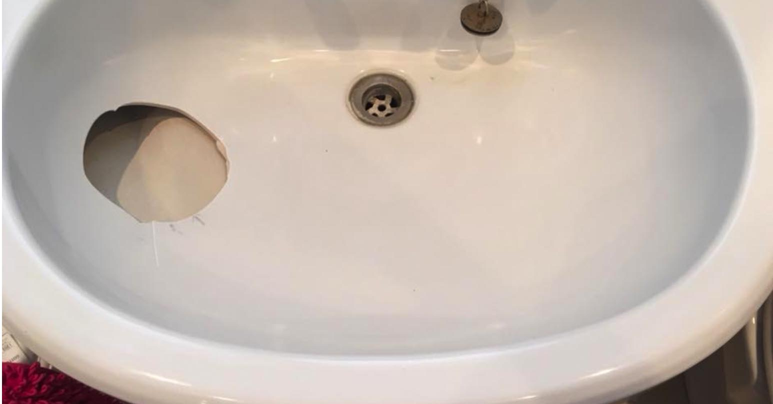 basin and sink surface repairs
