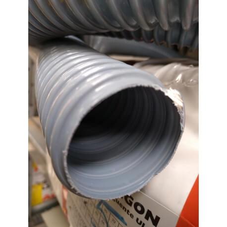 Tubo flessibile in PVC per aspirazione e passaggio aria e fumi
