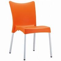 Siesta Juliette Plastic Dining Chair Orange ISP045 ...