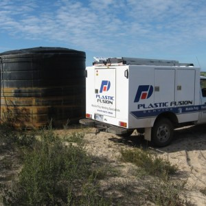 Onsite tank repair- the Mallee
