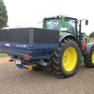 Silvan Bogballe fertiliser spreader extension sides