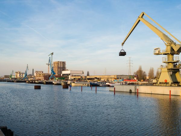 This is how you help to recycle plastic industrial waste in Ghent