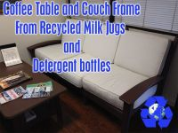 recycled milk jug furniture | Roselawnlutheran