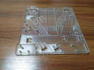 clear plastic parts