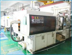 double injection molding machine