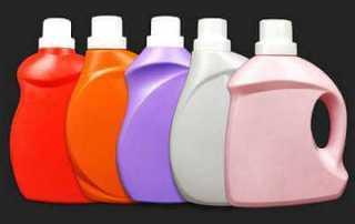 Blow molding bottles