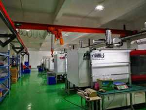 Injection molding production cost