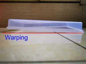 Warping issue