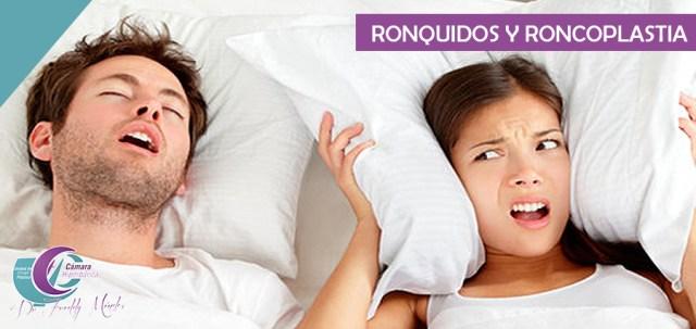 ronquidos y roncoplast5ia