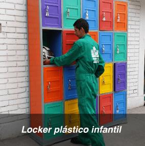 Lockers casillero y estanterias
