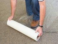 Roll Of Plastic Carpet Protector  Floor Matttroy