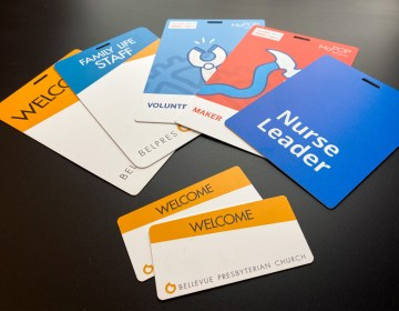 Name tag ID badges
