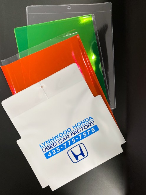 Custom Ziploc products with logo