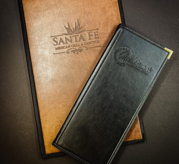 Stitched hard covers deluxe with leather materials